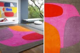 colorful designer 18 rooms with colorful rugs design milk