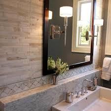 bathroom backsplash designs bathroom with black marble backsplash design ideas