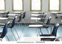 lecture tables and chairs university lecture chairs tables classroom stock photo royalty free