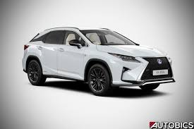 lexus white lexus rx 450h launched in india availalble in luxury and f sport