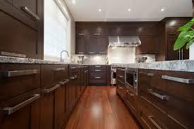 kitchen winsome dark wood modern kitchen cabinets details dark