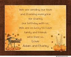 thanksgiving turkey thank you cards gobbles pumpkins
