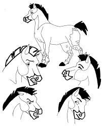 how to draw a mustang horse free download clip art free clip