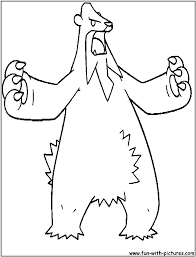 ice pokemon coloring pages free printable colouring pages for