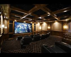 Stunning Custom Home Theater Design Pictures Decorating Design