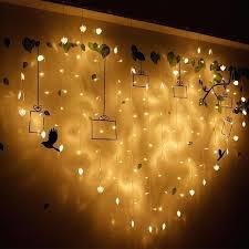 led string lights amazon fantastic christmas led lights curtain string lights new year