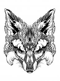animals coloring pages adults justcolor