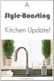 clean kitchen faucet trinsic kitchen faucet with touch2o technology delta faucet