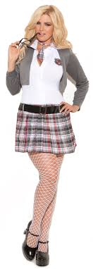 school girl costumes of detention school girl plus size costume mr costumes