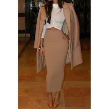 high waisted pencil skirt high waist midi skirt sale addicted2fashion