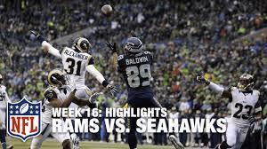 Tim Barnes St Louis Rams Rams Vs Seahawks Week 16 Highlights Nfl Youtube