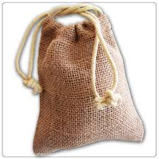 burlap gift bags new burlap favor bags with drawstring 3x5 pack of
