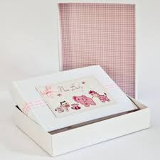 baby girl photo album white cotton cards baby girl album white cotton cards from