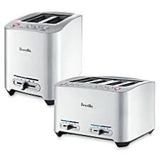 Breville 4 Slice Smart Toaster Toasters U0026 Ovens Bed Bath U0026 Beyond