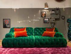 Modern Sofas Sydney Modern Chesterfield Sofa By Bretz Orange Terracotta Velvet