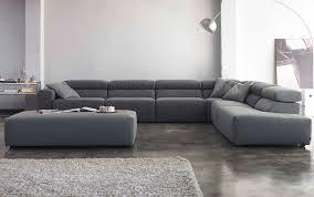 canape bicolore design canapé d angle bicolore en tissu gris acier