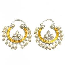 name plated earrings gold hoop earrings with name gold plated hoop earrings with pearls