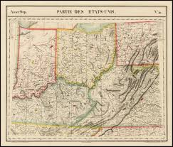 Princeton Map 1820 U0027s Pennsylvania Maps