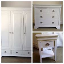 White Bedroom Drawers Uk Chantilly White Cotswold Country Co Bedroom Furniture Wardrobe