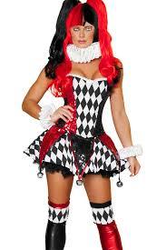 Harley Quinn Halloween Costume Funny Long Sleeve Harley Quinn Halloween Costume Red Pink
