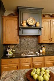 Ideas Update Oak Cabinets WITHOUT A Drop Of Paint - Pictures of kitchens with oak cabinets
