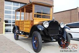 1925 dodge truck dodge brothers woody taxi 6 passanger all wood car truck