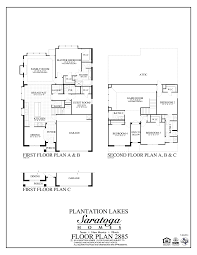 Floor Plans Homes Plan 2885 Saratoga Homes Houston