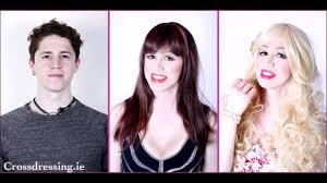 Crossdresser Studio Makeovers   crossdressing makeovers dublin youtube