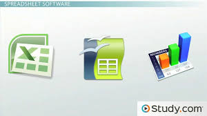 List Of Spreadsheet Software Database And Spreadsheet Software Excel Access Dbase Lotus 1