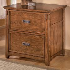 cross island desk w storage ashley furniture cross island mission 2 drawer lateral file