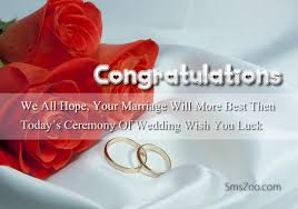 wedding wishes on marriage ceremony wishes sms ceremony sms