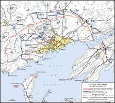 Saint Malo France Map by Hyperwar Us Army In Wwii Breakout And Pursuit