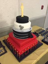 black and gold champagne flavored birthday cake my completed
