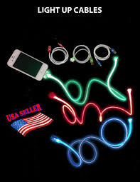Light Up Iphone Charger Glow In The Dark Phone Charger On The Hunt