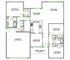 2 Bedroom Bungalow Floor Plans by Intricate One Bedroom Apartment Designs Example 14 Heavenly Style