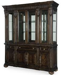 Dining Room China Buffet Legacy Classic La Bella Vita China Cabinet With Touch Lighting And