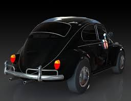 car volkswagen beetle 3d beetle vw beetle cgtrader