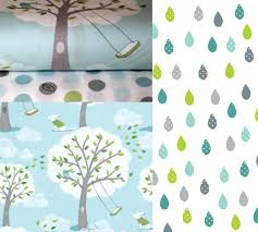 Backyard Baby Fabric by Clouds And Rain Fabric Wall Decals Eco Wall Decals