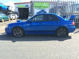 subaru blobeye black breaking blue 2003 sti 8 ppp 17
