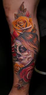 junkies studio tattoos nature custom color day of