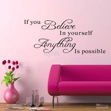 Nursery Sayings Wall Decals Nursery Sayings Wall Decals If You Believe In Yourself Everything