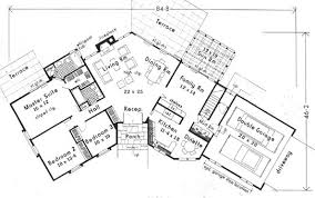 space saving floor plans 5640 3 bedrooms and 2 5 baths the house designers