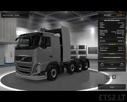 volvo trucks europe volvo 8x4 ets 2 mods