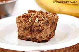 wholegrain banana cake recipe best eggless oat crunch cake