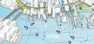 Boston Harborwalk Map by Downtown Waterfront Public Realm And Watersheet Activation Plan