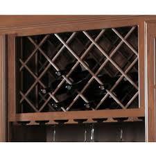 wine bottle cabinet insert unfinished furniture wine racks kitchensource com