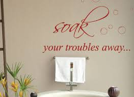 13 bathroom wall decals quotes lettering bathroom wall stickers