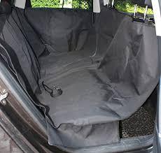 lotfancy dog seat cover for car waterproof pet hammock protector