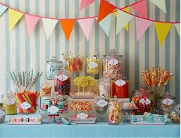 Candy Buffet Apothecary Jars by Candy Jars For Rent