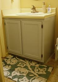 Painting Bathroom by Painting Bathroom Cabinets Mrs Bomb Com